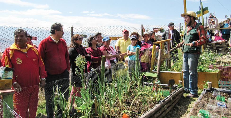 Community Food Garden Lak´a Uta – Fundación Alternativas